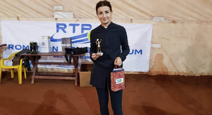 Carmen Necula a câştigat turneul Sport Profit Open Tenis