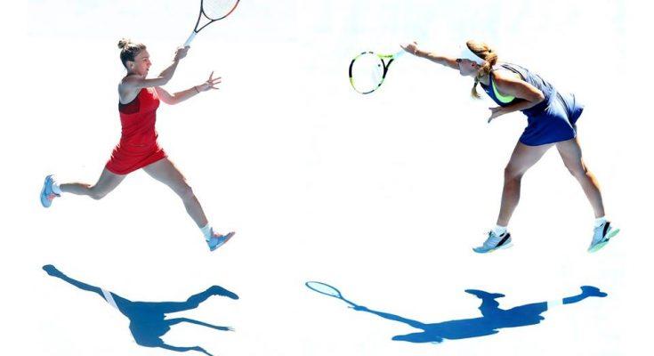 Simona Halep a fost învinsă în finala AusOpen de Caroline Wozniacki