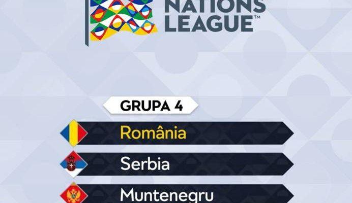 Tricolorii, în grupă cu Serbia, Muntenegru şi Lituania în Liga Naţiunilor