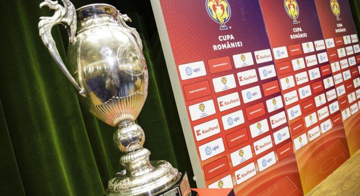 Programul sferturilor de finală ale Cupei României