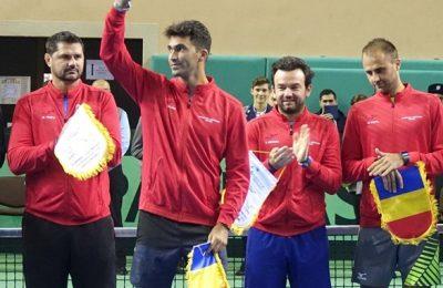 Copil, Ungur, Tecău, Mergea și Dima, în echipa de Cupa Davis