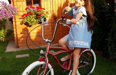 Iarina Popescu a câştigat concursul care a avut ca premiu o bicicletă Pegas